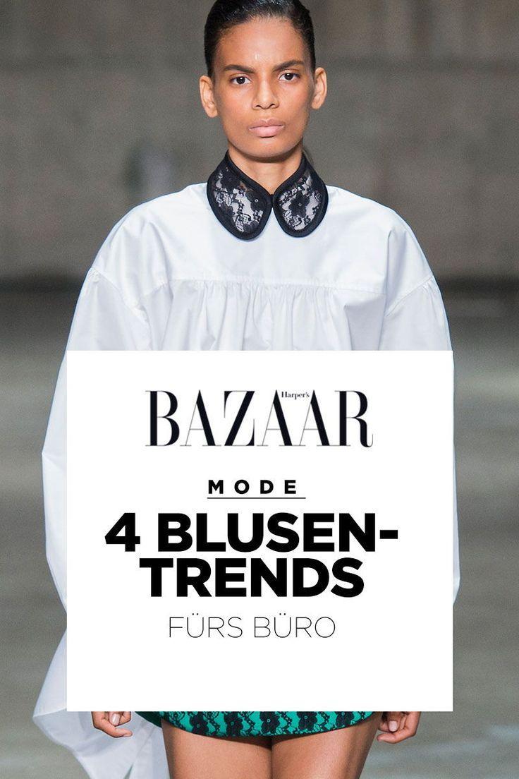 Business-Mode: 4 officetaugliche Blusen-Trends für Sommer 2019