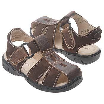 Jumping Jacks Sand Storm Tod/Pre Sandals (Dk Brn/Chocolate) - Kids' Sandals - 10.0 2W