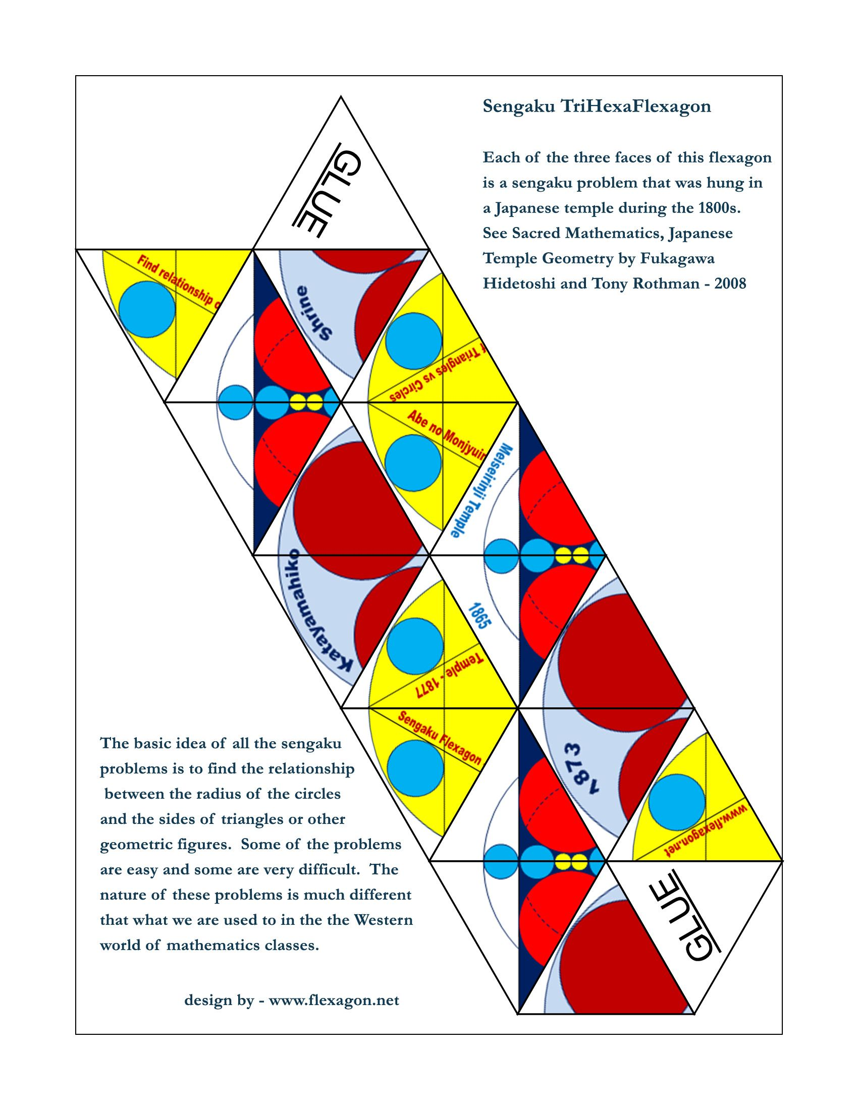 Httpflexagonflexagonstrihexsangakutemplateg httpflexagonflexagonstrihexsangakutemplateg flexagons pinterest math origami and template pronofoot35fo Gallery