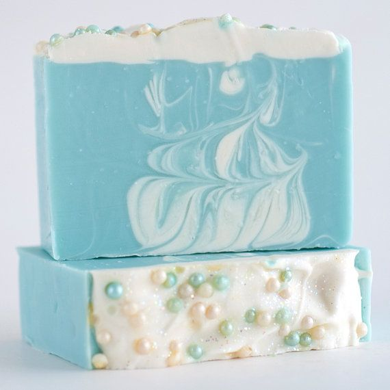 First Frost Vegan Soap with Organic Shea Butter and by BlossomTwig, $6.00