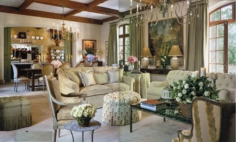French Cottage Style Decorating - Interior Design