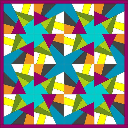 Foundation 2 Piece layout by Piecemeal Quilts -- fantastic site ... : piecemeal quilts - Adamdwight.com
