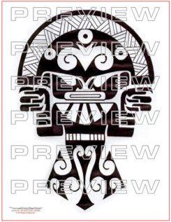 amazing tribal priest tattoo