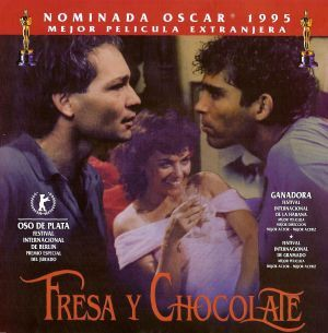 Dvd Cover For Fresa Y Chocolate Poster Chocolate Movie Dvd Covers
