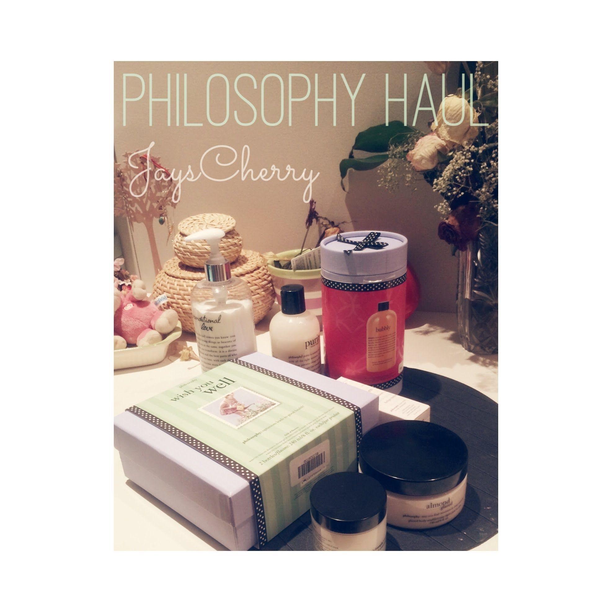 Philosophy Haul مشترياتي من فيلوسفي Philosophy Haul Places To Visit