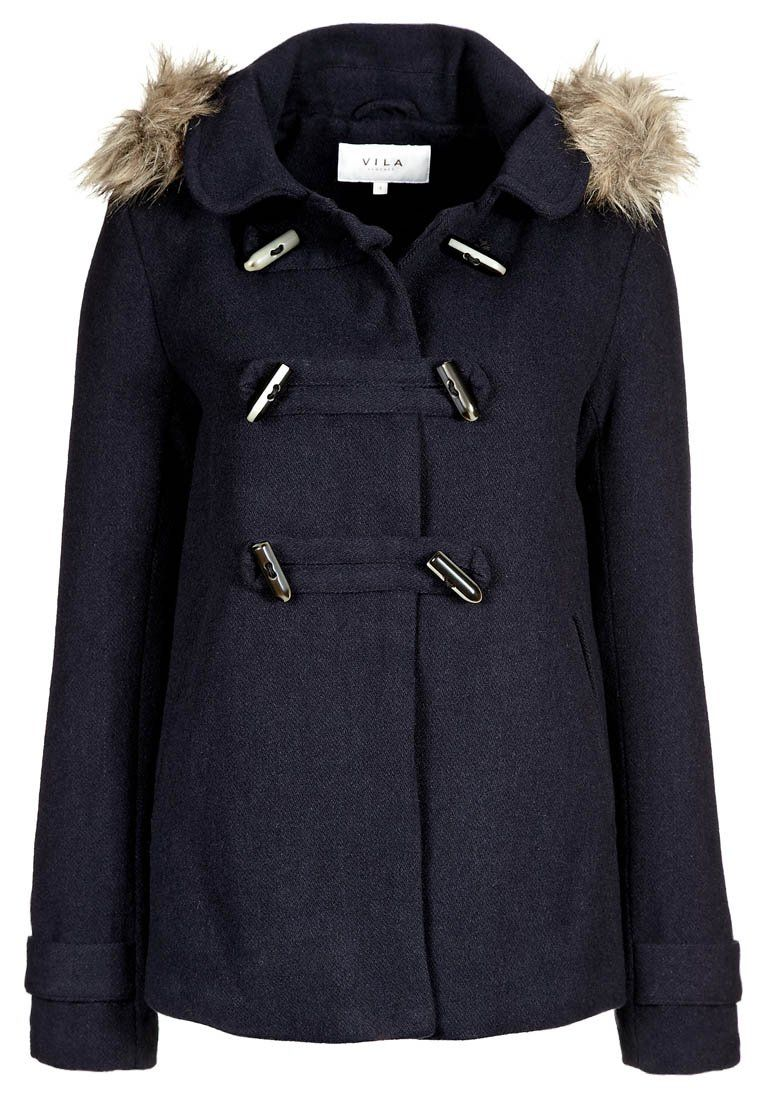 Vila - Blue Duffle Coat