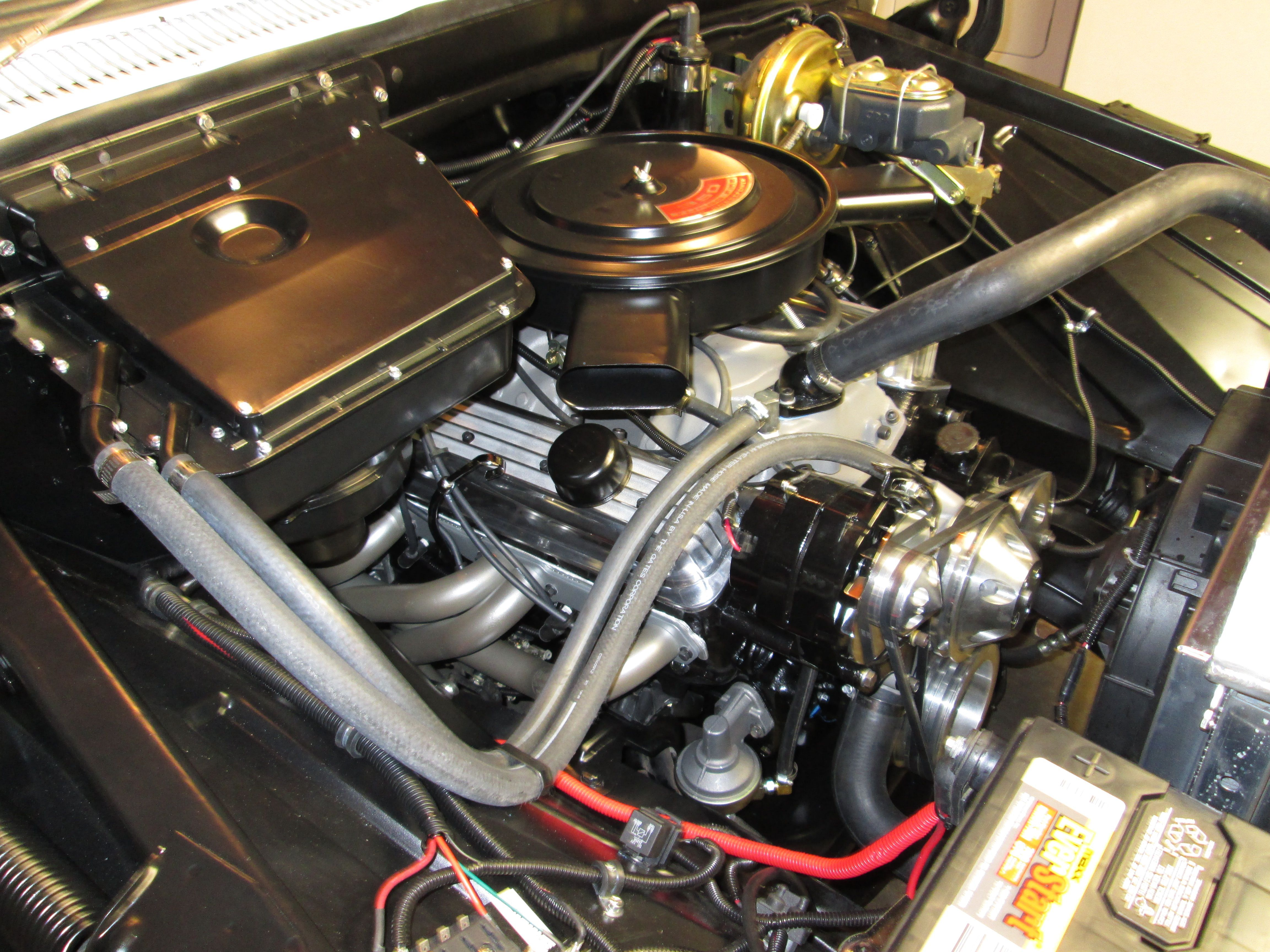 355ci crate engine small block gm style longblock iron heads blueprint engines has received a photo submission of our bp35511ct1 installed into this 1966 chevy c10 malvernweather Image collections