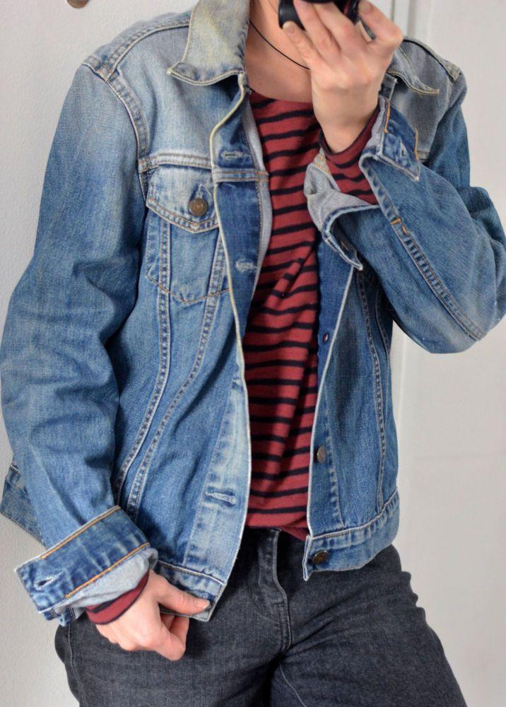 Veste en jean femme levis ebay