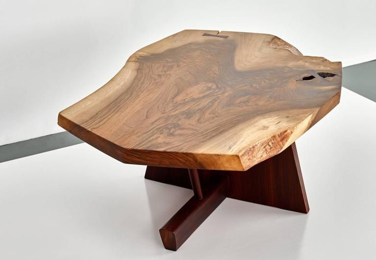 George Nakashima Minguren II Coffee Table Rosewood, 1978 6