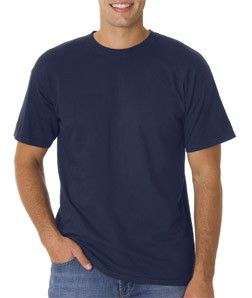 4017 Chouinard Adult Combed Ring-Spun Cotton Tee Navy Pgmdye