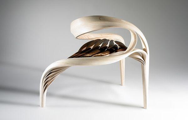 Holzmöbel design  einzigartige formen holzmöbel design von joseph walsh | Möbel ...