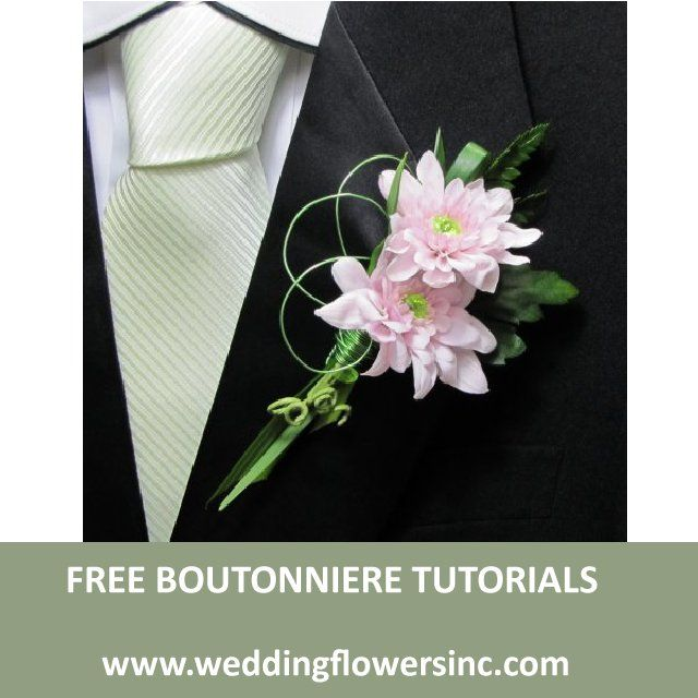 Free flower design recipes and step by step tutorials for wedding ...