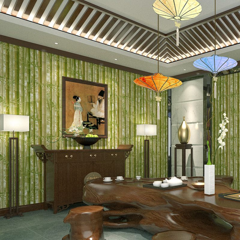 Design A Living Room Online For Free Mesmerizing Free Shipping Buy Best Chinese Simulation Bamboo Wall Paper Vinyl Design Inspiration
