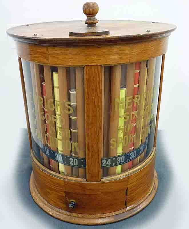 Merrick Round Oak Spool Cabinet | Sew Sew | Pinterest | Vintage ...