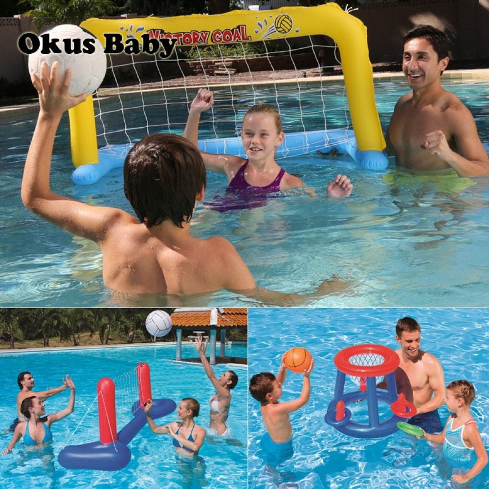 Water Game Balls In Swimming Pool Inflatable Water Toys For Family Outdoor Summer Water Sport Equipments For Kids P Inflatable Swimming Pool Kids Swimming Pool