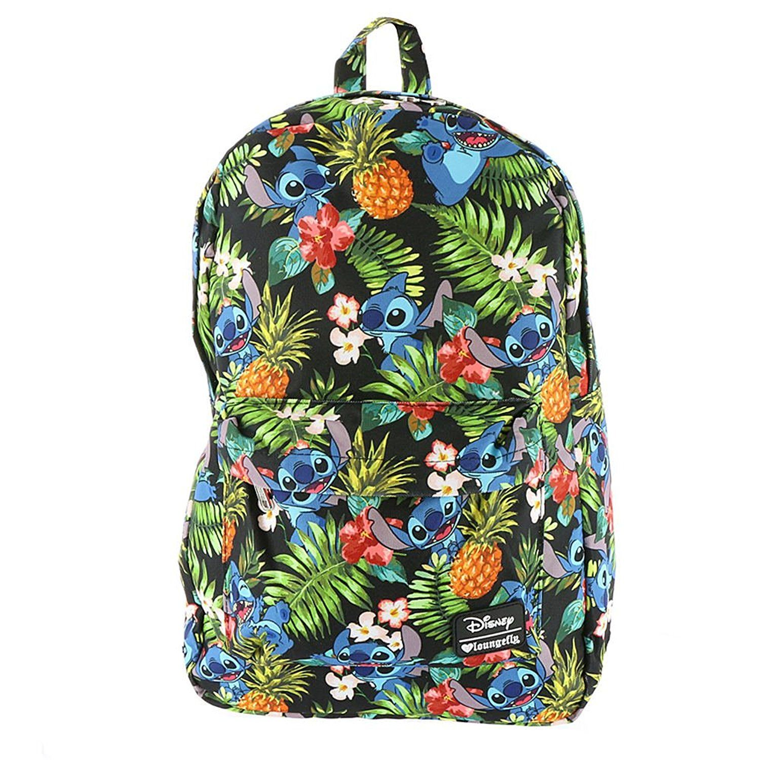 loungefly disney stitch hawaiian backpack multi -- check this