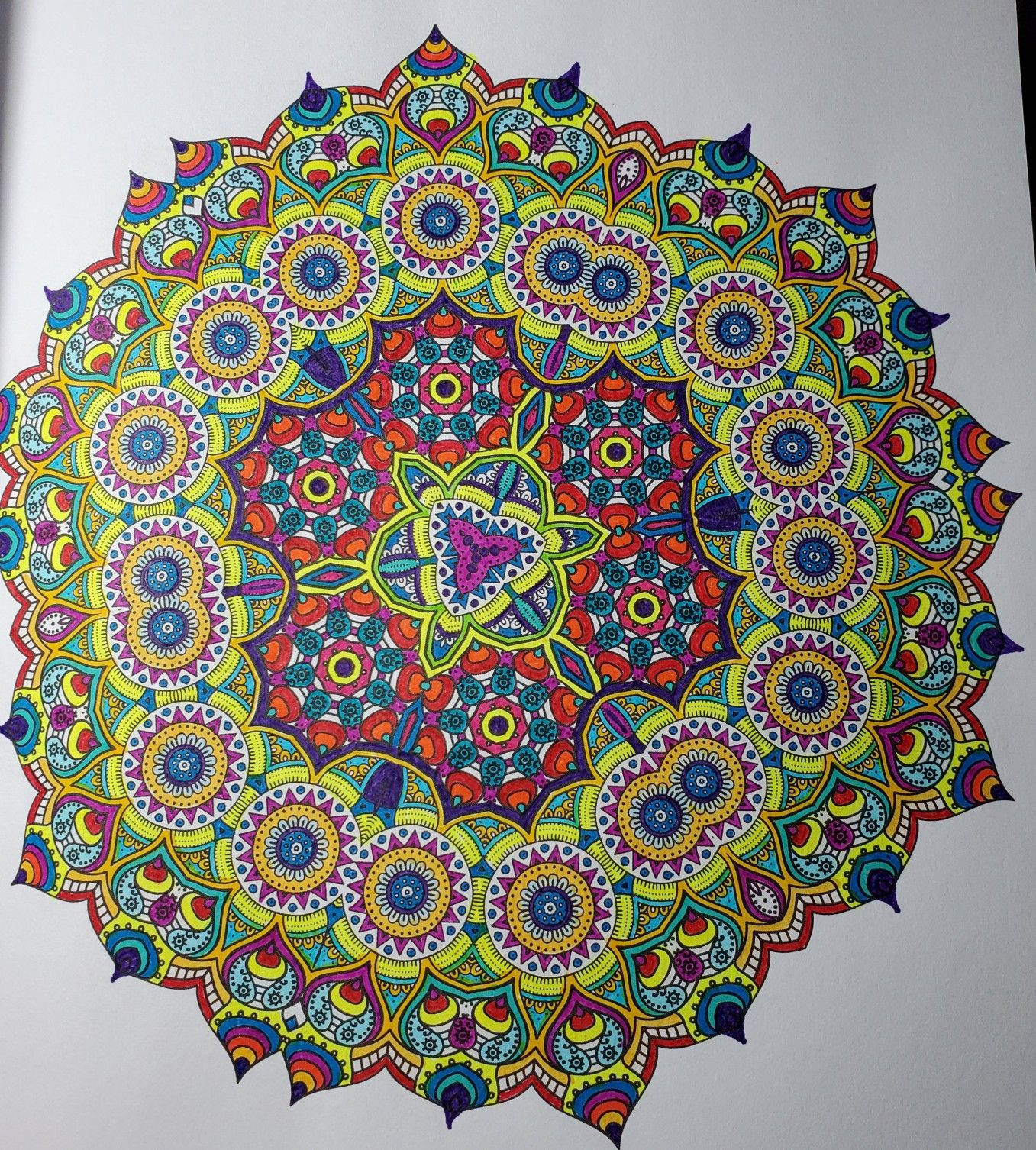 Insane Mandalas Vol 1 The Original Stress Inducing Coloring Book The World S Hardest Coloring Book Marti Jo S Coloring Coloring Books Mandala Color