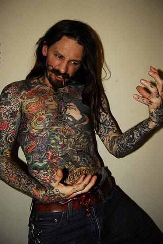 Tattoos done by oliver peck oliver is the second most for Peck tattoos for guys