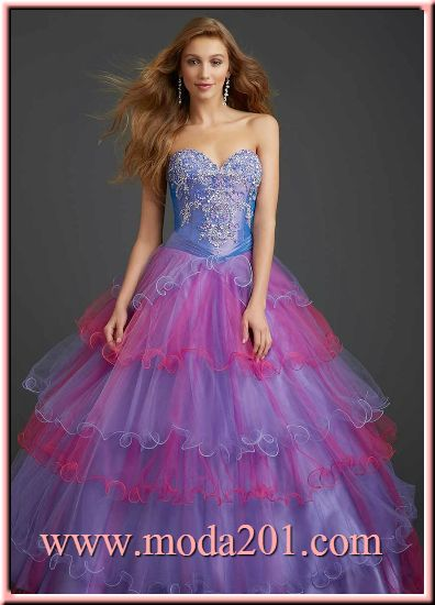 Vestidos de 15 a os diferentes colores - Como se hace el color turquesa ...
