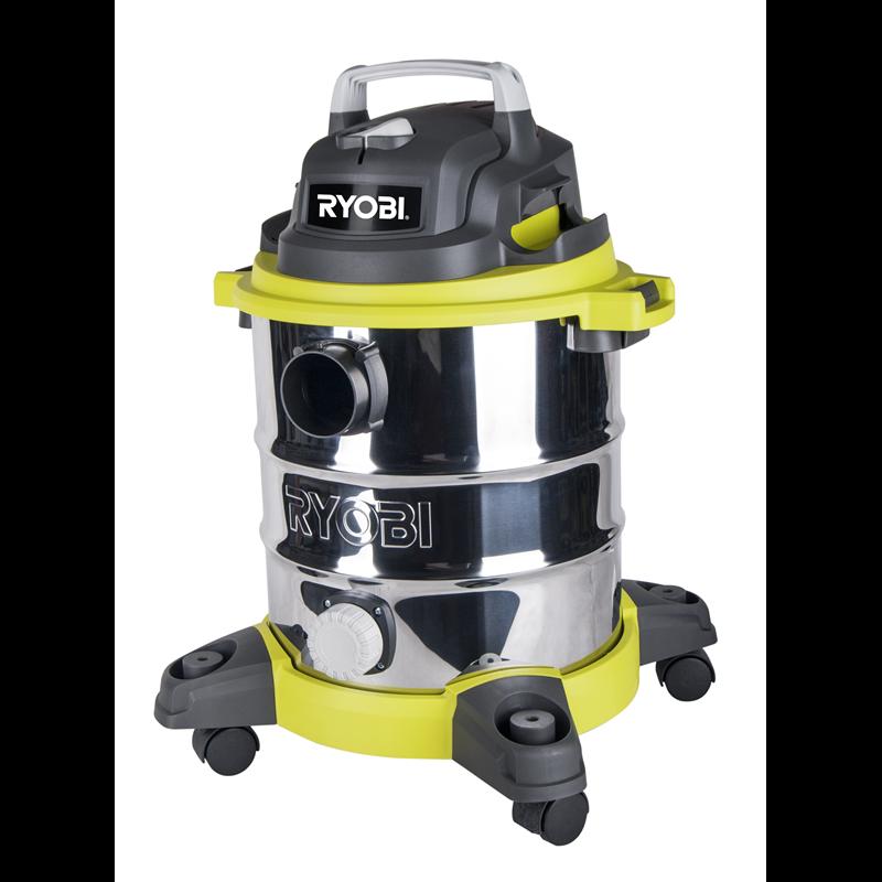 TACKLIFE Wet/Dry Vacuum, 5 Gallon, 5.5 Peak HP with 17 FT