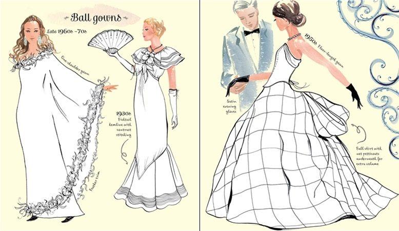 "Vintage fashion colouring book"" at Usborne Children\'s Books | Cool ..."