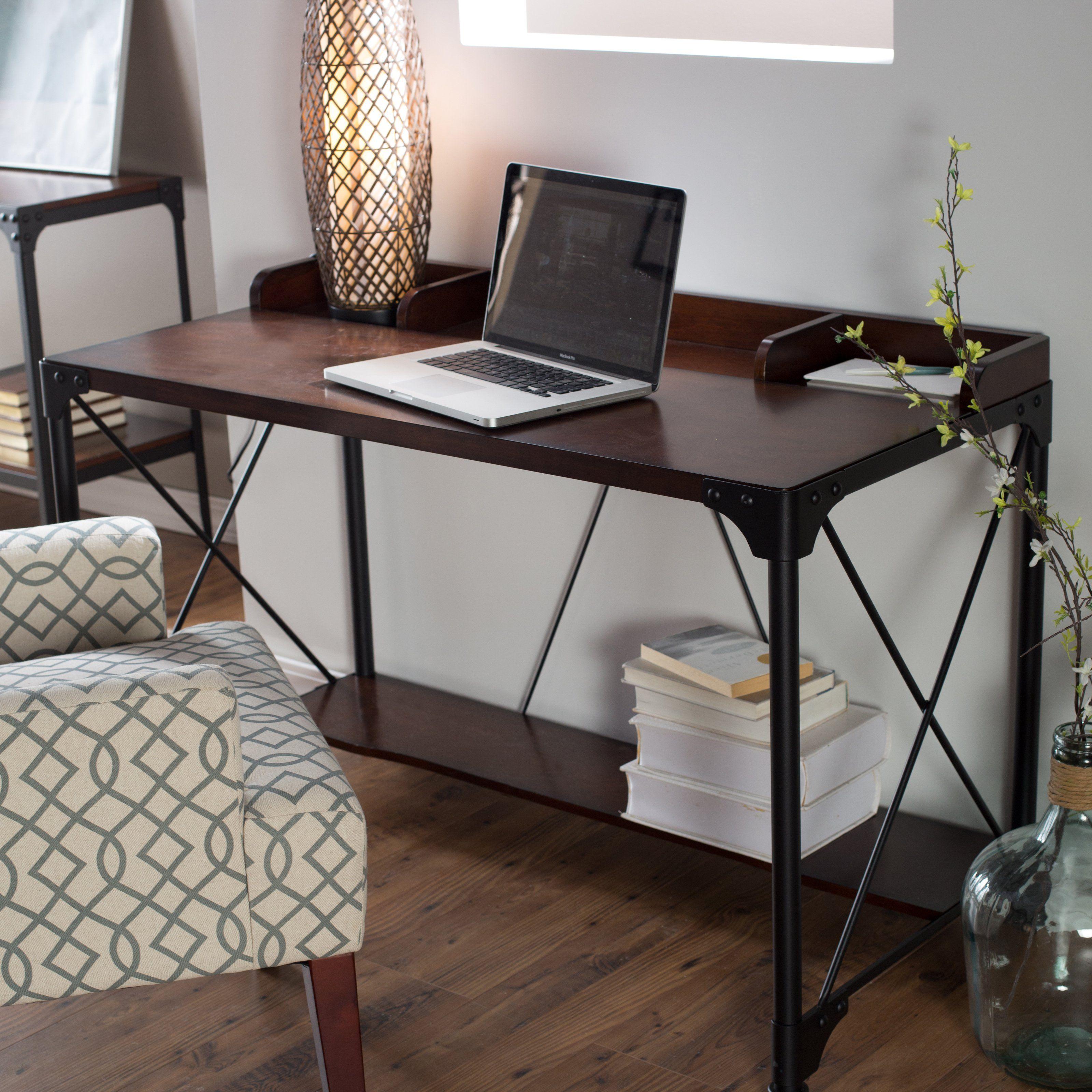 Industrial Writing Desk fice Oasis Pinterest