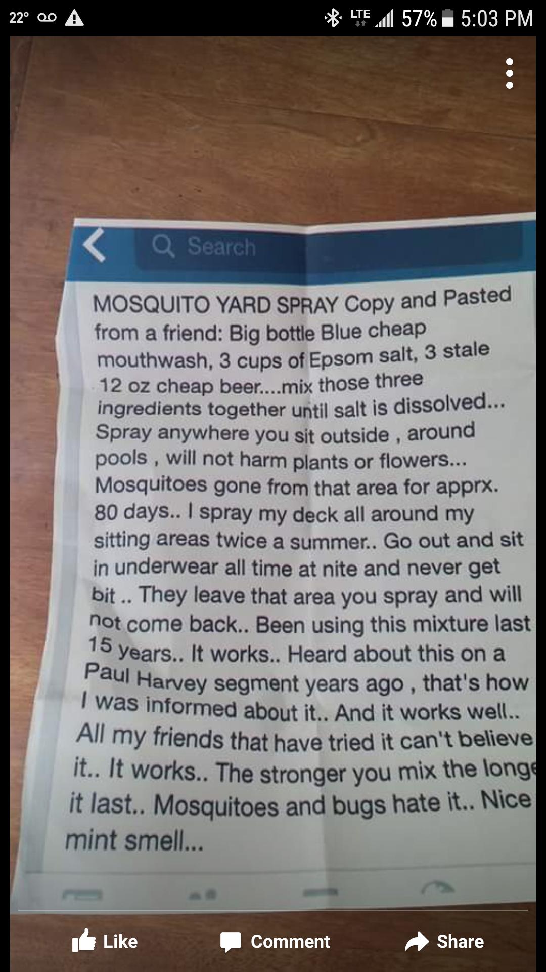 mosquito yard repellent ideas pinterest