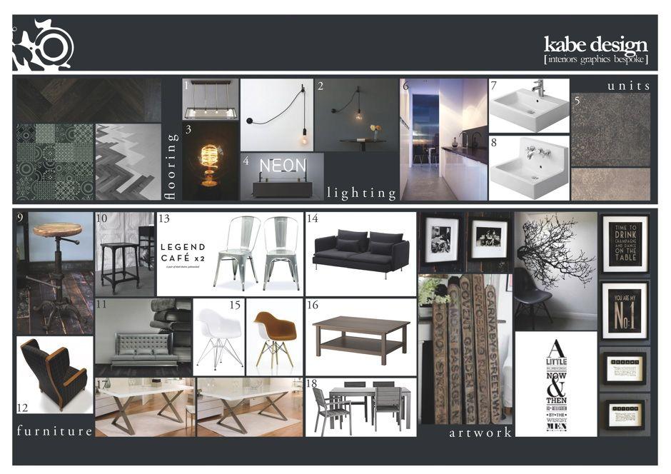 Interior Design Presentation Boards Google Search Interior