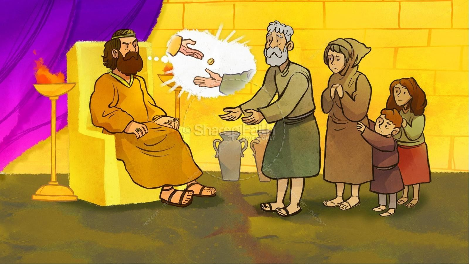 Matthew 18 The Parable of the Unforgiving Servant Kids Bible Story | Kids  Bible Stories | Bible stories for kids, Bible for kids, Parables