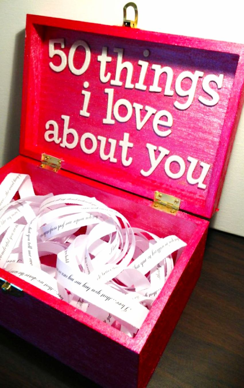 26 Homemade Valentine Gift Ideas For Him - DIY Gifts He ...