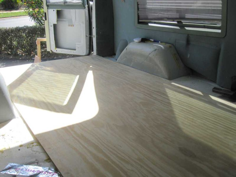 Converting A Van To Camper Foam Board For Floor Insulation