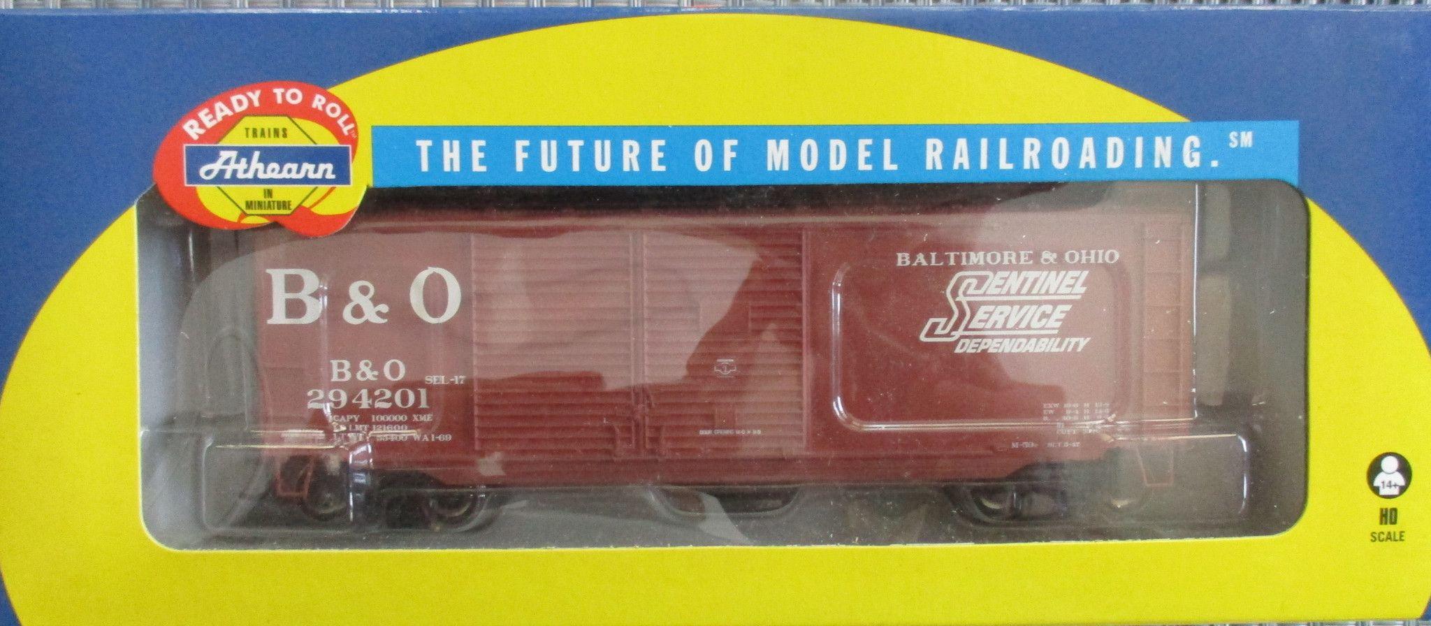 Athearn HO #74903 40' Boxcar Baltimore & Ohio #294201