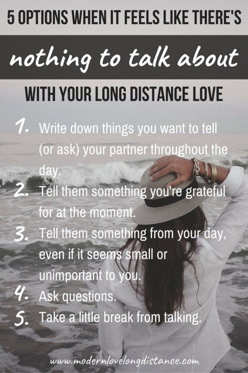 what to say to your long distance boyfriend
