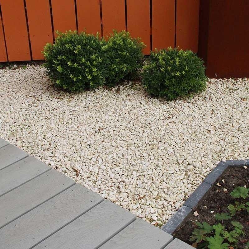 Grava Amarilla Marmol Tipos De Jardin Jardin Con Piedras Jardines