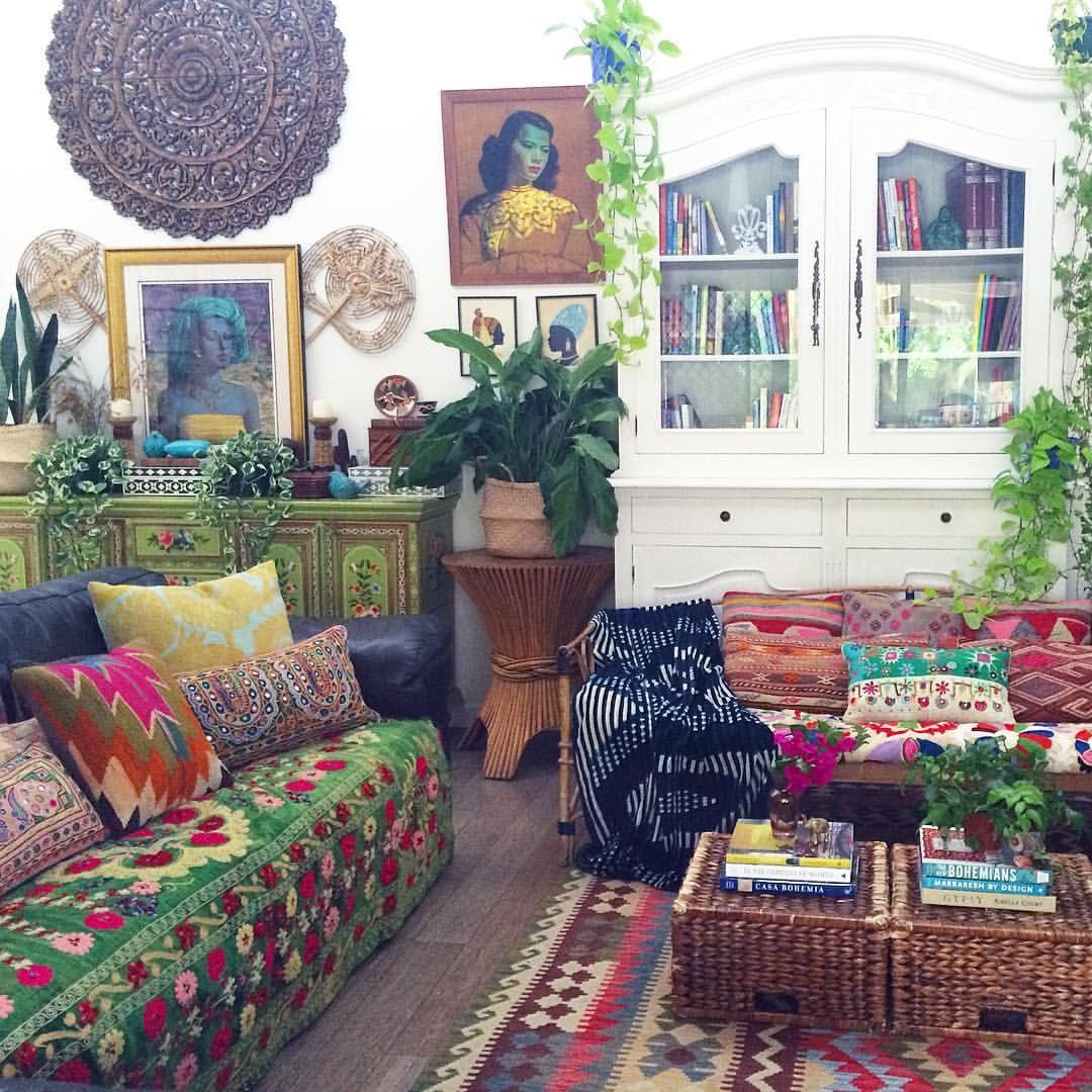 5 777 likes 152 comments jo la boheme labohemehouseofthewishingtrees on instagram on boho chic decor living room bohemian kitchen id=83356