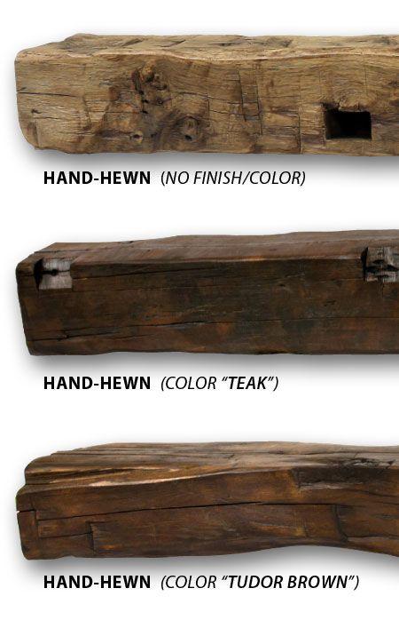 Reclaimed Barn Beam Fireplace Mantels