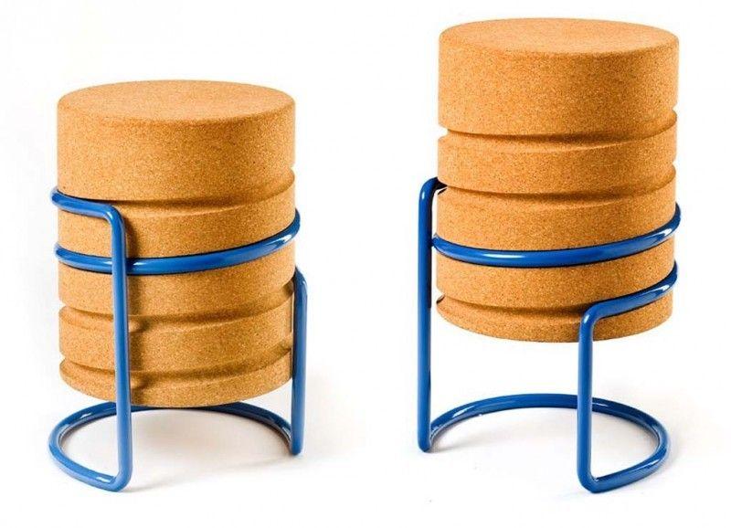 17 idées déco et mobilier en liège chaises & fauteuils pinterest