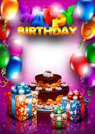 Hasil Gambar Untuk Birthday Greeting With Photo Upload Free