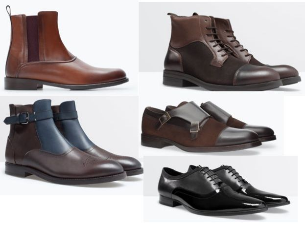 Zapatos y botas hombre 2015