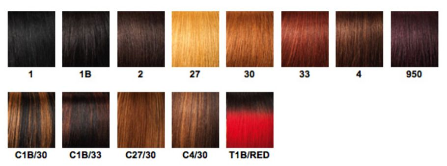 Weave Hair Color Chart Hair And Nails Pinterest Weave Hair