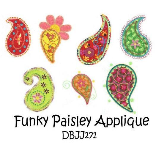Paisley Applique