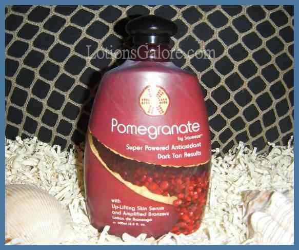 Squeeze Pomegranate Tanning Lotion - $27.21