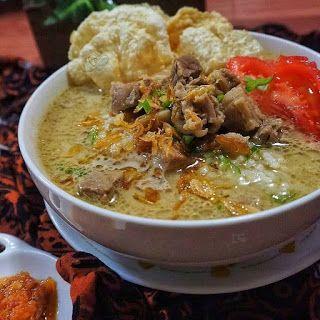 Resep Masakan nusantara: SOTO BETAWI  Resep masakan, Resep, Masakan simpel