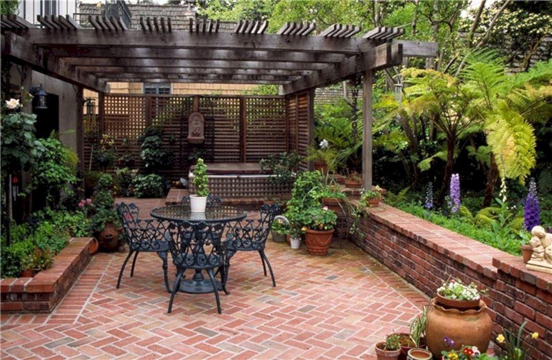 freestanding pergola ideas Brick Pergola Designs id=46965