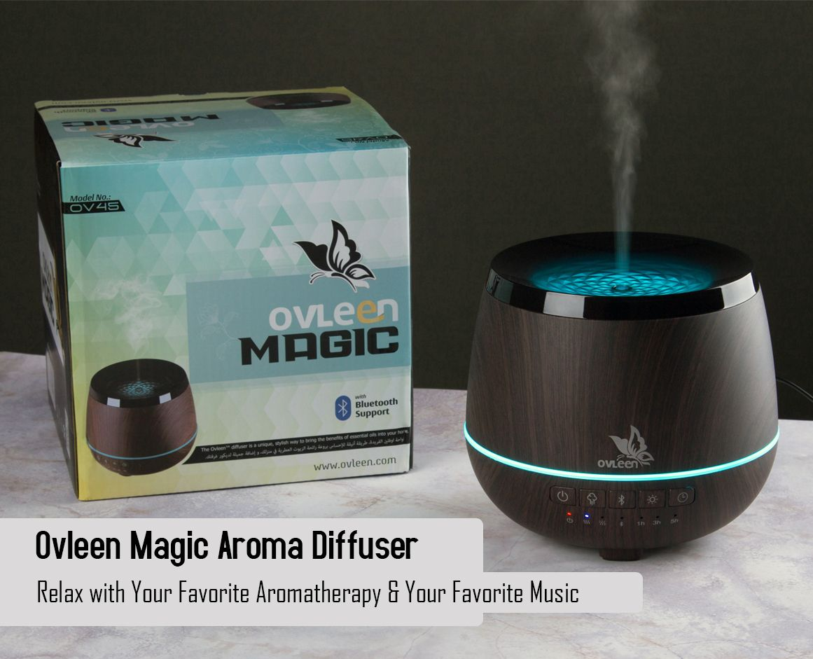 Http Ovleen Com Essential Oil Diffuser Bluetooth Speakers Ovleen Magic 200ml Ultrasonic Coo Aroma Diffuser Essential Oil Diffuser Aromatherapy Humidifier