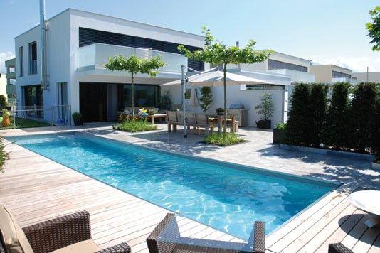 bildergebnis für moderne pools | garden&pool | pinterest | moderne ... - Moderne Gartengestaltung Mit Pool