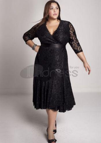 6ff6f35a601dba avondjurken grote maten Carmella kanten jurk
