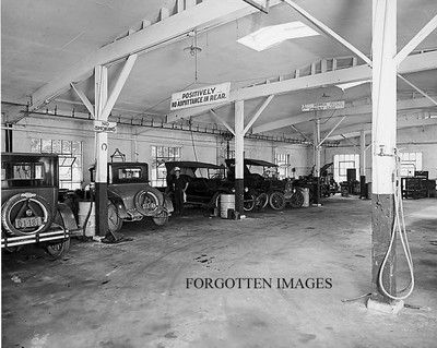 Auto Repair Shop Goodyear Tires 1920s 8x10 Photo Print