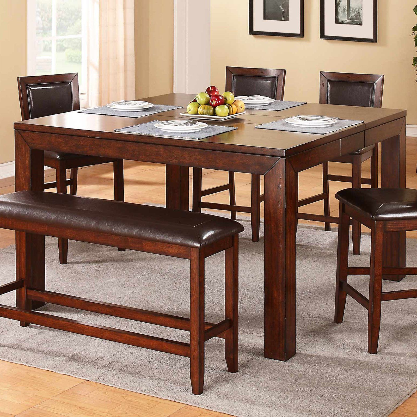 winners only fallbrook counter height dining table with 12