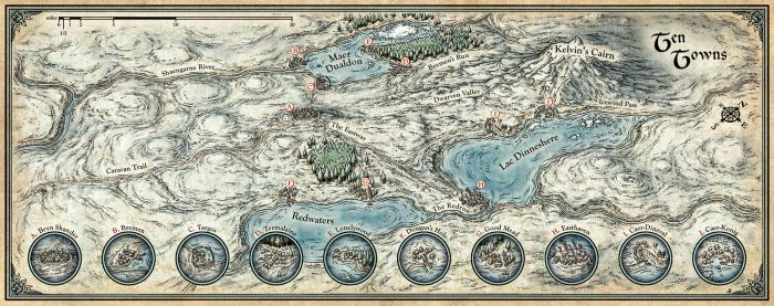 Fantasy Cartography by Mike Schley at Coroflot.com